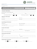 Service Authorization Request - Housing 816 Hour Group Home - Hawaii Mental Health Division