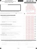 Form Bpt-ez - Business Privilege Tax - Ez - City Of Philadelphia - 2007