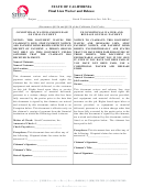 California Final Lien Waiver And Release Form