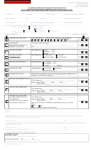 Form C1045 - Classified Personnel Request For Change In Assignment Location, Basis, Shift, Status, Class, And/or Time Form