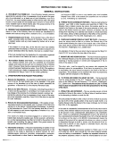 Instructions For Form D-41 - District Of Columbia Office Of Tax And Revenue