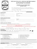 Certificate Of Inspection - Sprinkler System - Ocean City Fire Marshal