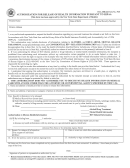 Oca Official Form 960 - Authorization For Release Of Health Information Pursuant To Hippa