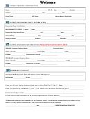 Patient Personal Information