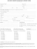 Secure Tamper Resistant Order Form