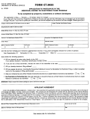 Form Ct-8633 - Application To Participate In The Individual Income Tax Electronia Filing Program
