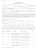 Bid Form For Areawide Oil And Gas Lease Sale