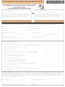 Application For Lifeline Telephone Service Credit - Vermont - 2013
