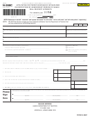 Form N-288c - Application For Tentative Refund Of Withholding On Dispositions By Nonresident Persons Of Hawaii - 2014