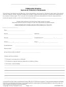 Formulario De Queja - Servicios De Traduccion E Interpretacion