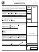 Form I-914 - Supplement A, Application For Family Member Of T-1 Recipient - U.s. Citizenship And Immigration Services