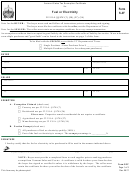 Form S-3f - Vermont Sales Tax Exemption Certificate For Fuel Or Electricity -