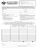 Merit Badge Counselor Information Sheet - Boy Scouts Of America