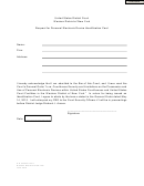 Request For Personal Electronic Device Identification Card Form - U.s. District Court
