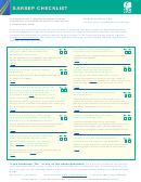 Publication 4286 - Sarsep Checklist