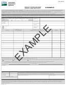 Form Sc-205 - Specialty Crops Program Export Form Certificate - U.s. Department Of Agriculture