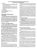 Instructions For Form P-1065 - City Of Portland Income Tax 2000 Partnership Return