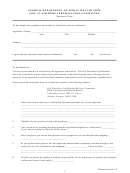 Reference Form 1.2 - Soil Classifiers Certification Committee - Georgia Department Of Public Health