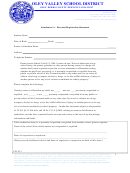 Attachment A - Parental Registration Statement