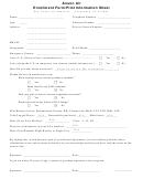 Anson Air - Enrollment Form/pilot Information Sheet