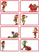 Christmas Elves Card Templates