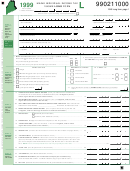 Form 1040me - Maine Individual Income Tax - Long Form - 1999