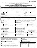 Option Period Enrollment/change Form For Current Employee - 2016
