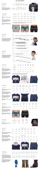 Shopcowboys Size Chart