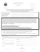 Form St-r-30 - Application For Sale/use Tax Exemption Certificate For An Incorporated Nonprofit Organization Providing Certain Services For Hearing-impaired Persons
