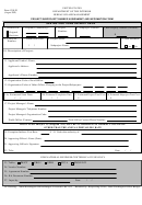 Form 1310-20 - Project/subproject Number Assignment And Information Form