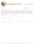 Request Non-duty Form