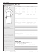 Size Charts - Gaspard Handcrafted Vestments And Paraments - 2011-2012