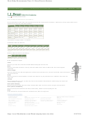 L/l/bean - Men's Body Measurements Chart