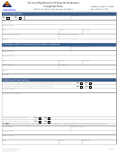 Form Complaint- 001 - Complaint Form - Arizona Department Of Financial Institutions