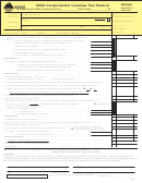 Form Clt-4 - 2003 Corporation License Tax Return - 2003