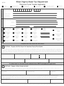 Form Wv/eft-5 - Electronic Funds Transfer Application - West Virginia State Tax Department