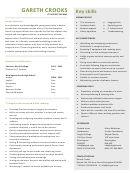 It Support Resume Template