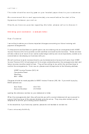 Sample Business Letter To Customer Template