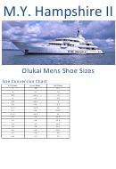 M.y. Hampshire Ii Olukai Mens Shoe Size Conversion Chart