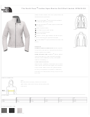 The North Face Ladies Jacket Size Chart