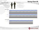Van Heusen Sizing Chart M