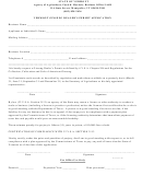 Vermont Ginseng Dealer's Permit Application Form - Agency Of Agriculture, Food And Markets