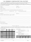 N.h. Workers' Compensation Task Analysis