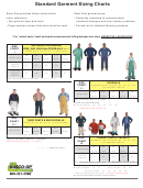 Standard Garment Sizing Charts - Nasco-op, Inc.