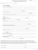 General Dentistry Information Consent Form
