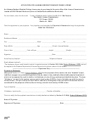 Application For Alabama Resident Disabled Fishing License Form