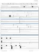 Prescription Drug Prior Authorization Or Step Therapy Exception Request Form