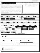 Va Form 21-0958 - Notice Of Disagreement - Department Of Veterans Affairs