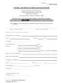 Sworn Answer To Complaint Filed - Kentucky Real Estate Commission