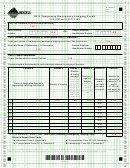 Montana Form Telc - Temporary Emergency Lodging Credit - 2013